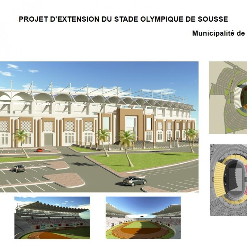 Extension du Stade Olympique de Sousse