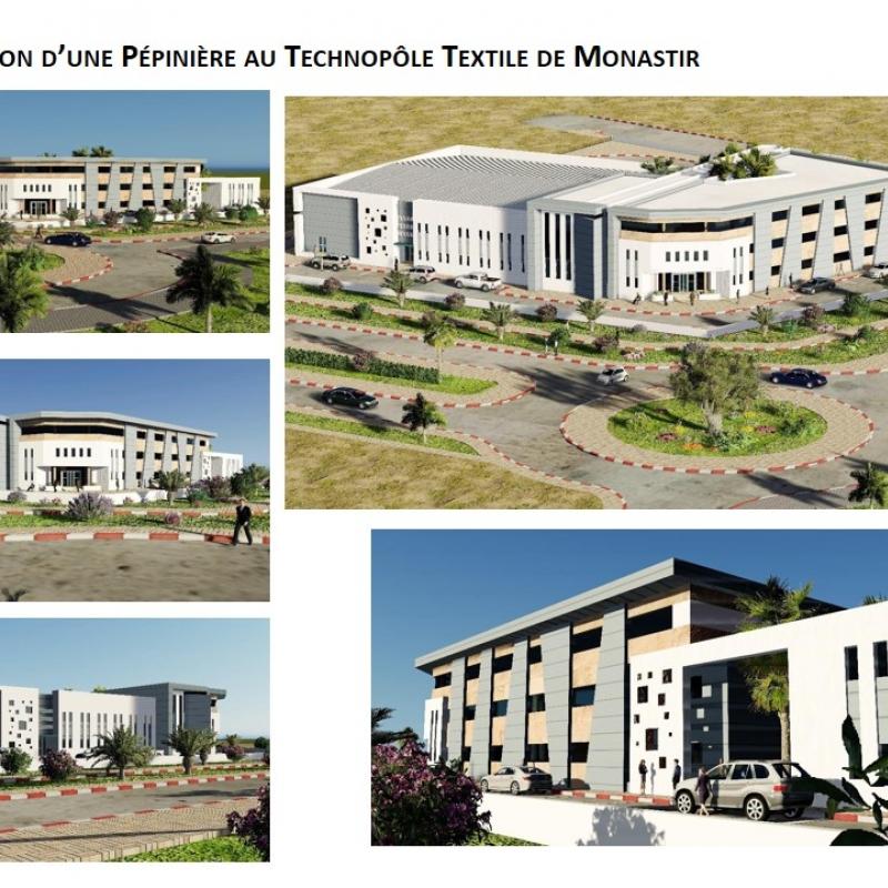 Pépinière d'Entreprises au Technopole de Monastir
