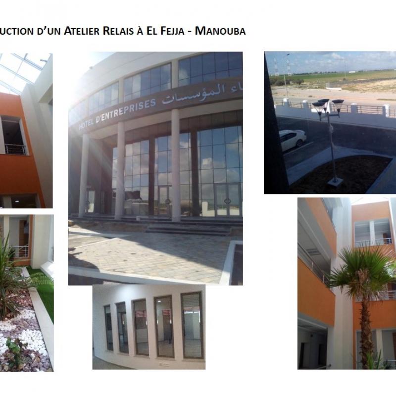 Hôtel d'Entreprise au Parc d'activités industrielles d'El Fejja