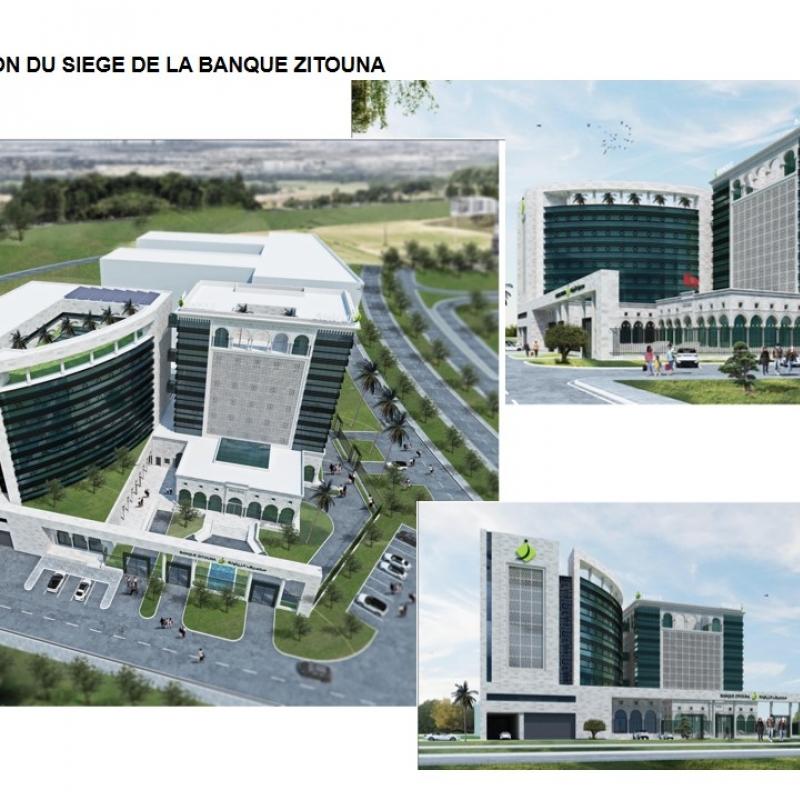 Extension du siège de BANQUE ZITOUNA