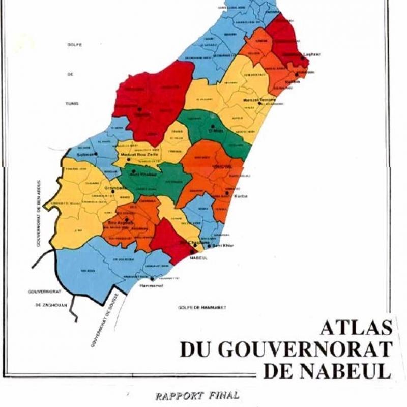 ATLAS DU GOUVERNORAT DE NABEUL
